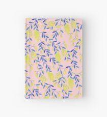 Golden Wattle - Navy & Blush Hardcover Journal