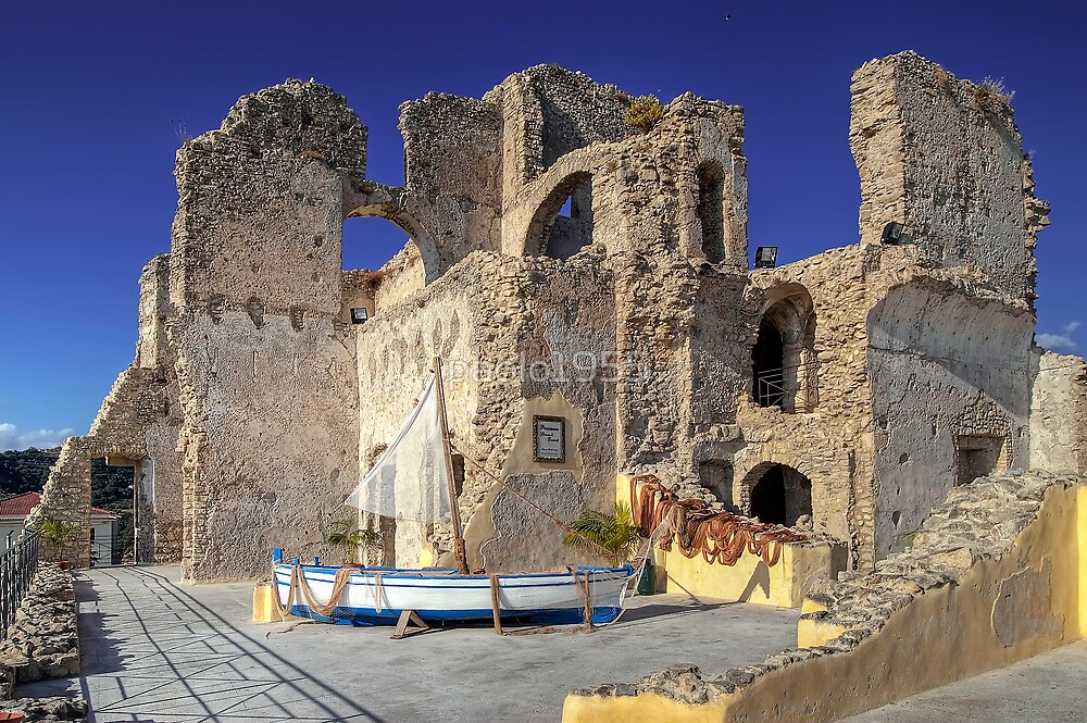 Alarçon Mendoza Castle's Ruins by paolo1955