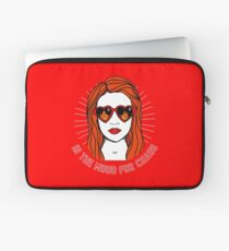In the Mood for Chaos, Cheryl Blossom, Riverdale, quote original illustration Laptop Sleeve