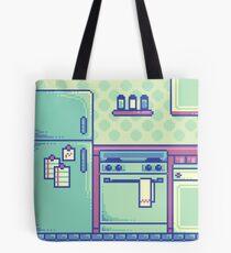 Kitchen (Pixel) Tote Bag