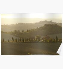 Tuscany Morning Poster