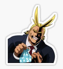 All Might - Wanna Eat Lunch Together? Sticker