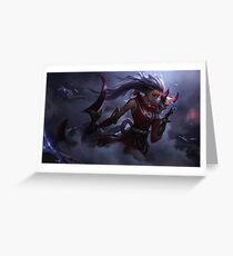 Diana league of legends Greeting Card