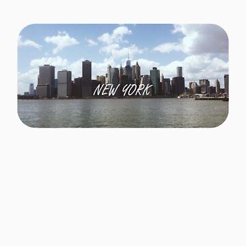 New York  by mkcvte
