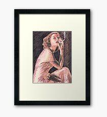 KATHERINE HEPBURN Framed Print