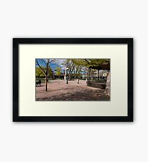 Central Plaza Framed Print