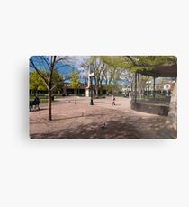 Central Plaza Metal Print