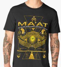 AKD  MA'AT MAAT Sacred Geometry Science Egyptian T Shirt (2) Men's Premium T-Shirt