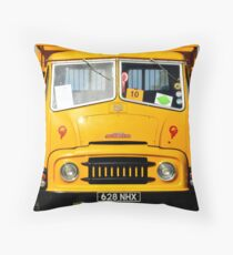 Austin lorry Throw Pillow