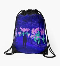 The Mysterious Forest Drawstring Bag