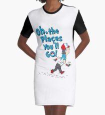 Go Trainer Go! Graphic T-Shirt Dress