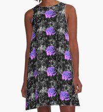 indigo-lilac rose, bwbg 05/28/18 A-Line Dress