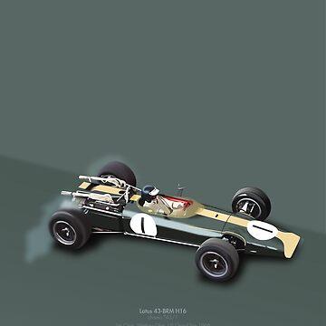 Lotus 43-BRM H16 by peterdials