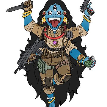 Kali the Black - Godess of Airsoft  by TacOpsGear