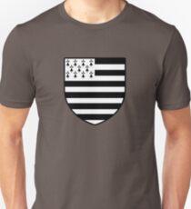 blason breton bretagne breizh bzh T-shirt unisexe