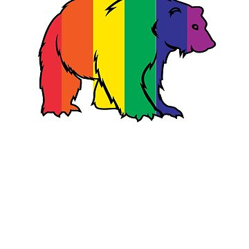 Gay Pride Shirt. Pride March LGBTQ T Shirt. Cool Gay Bear by teemaniac