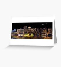 Boston City Scape Greeting Card