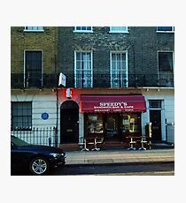 Speedy's Sandwich Bar  Photographic Print