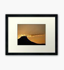 Sunset in Prescott, Arizona Framed Print