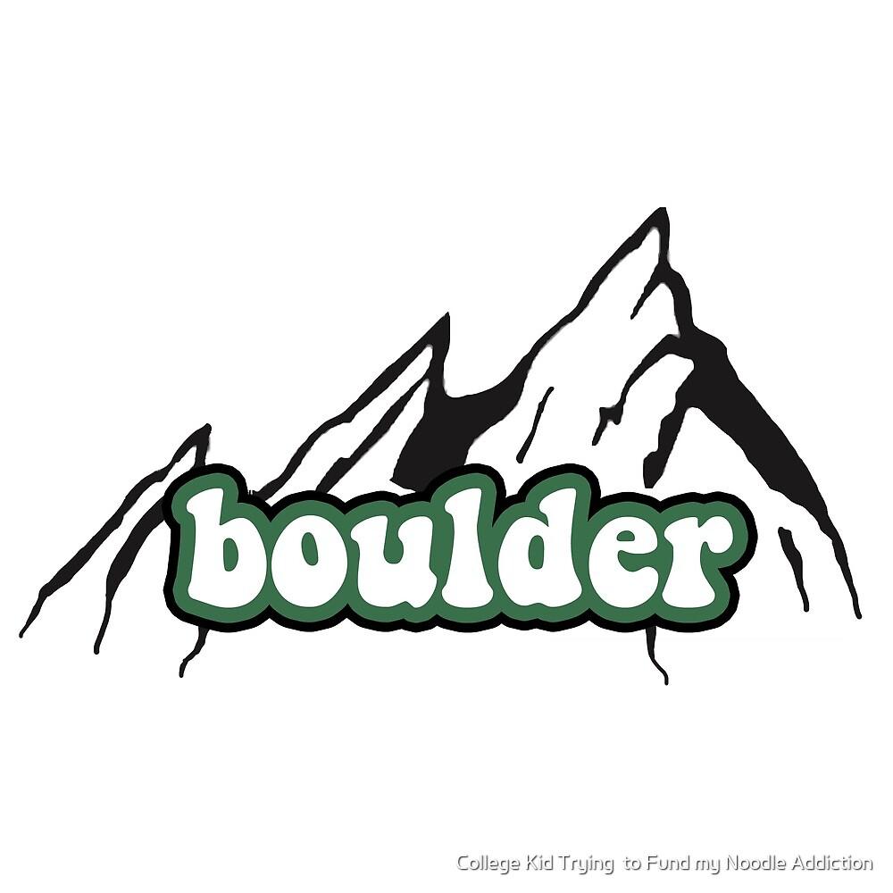 Boulder Flatiron Outline