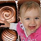 Happiness is a chocolate chip... by Trish Peach