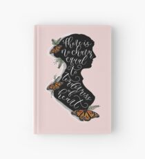 Jane Austen Literary Quote Hardcover Journal
