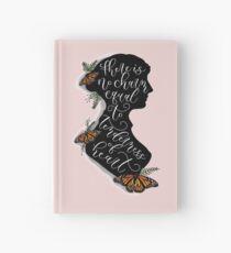 Jane Austen Literary Quote Hardcover Journal