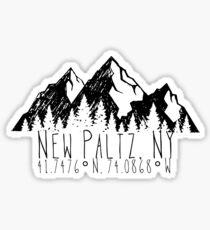 Neuer Paltz Sticker