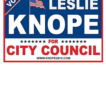Vote Leslie Knope 2012 by samuelhopper