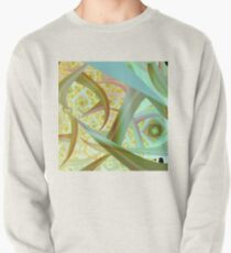 Blue Abstract Pullover