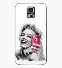 Selfie Marilyn Case/Skin for Samsung Galaxy
