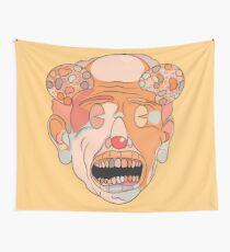 Happy Clown Soda Pop Wall Tapestry