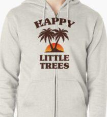 Bob Ross - Glückliche kleine Bäume Kapuzenjacke