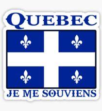quebec  canada je me souviens  montreal Sticker
