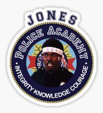LARVELL JONES - POLICE ACADEMY MOVIE Sticker