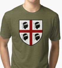 Sardaigne  Sardegna sarde Sardigna Tri-blend T-Shirt