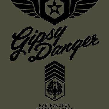 Gipsy Danger (Black) by Olipop