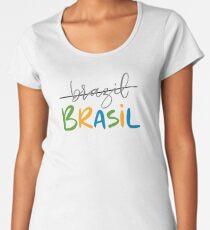 Brazil Brasil Women's Premium T-Shirt