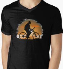 520c0862 bicycle Men's V-Neck T-Shirt