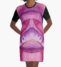 Pachyrhinosaurus Dino (Pattern) Graphic T-Shirt Dress