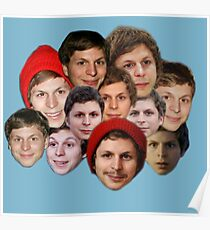 Michael Cera Collection Poster