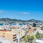 The Rooftops Of Ibiza 4 by Steve Purnell