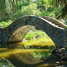 Stone Walking Bridge by Wanda Raines