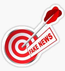 Darts - Fake News Sticker
