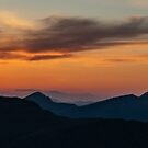 Nightfall over Ben Nevis, Lochaber, Scotland by Stravaigin