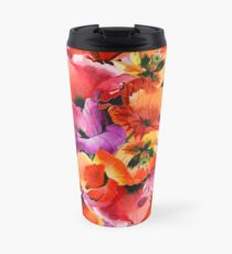 Poppies for Fun Travel Mug