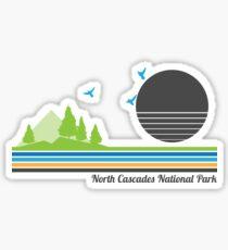 North Cascades National Park Sticker