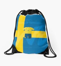 World Cup 2018 Forsberg ar Fantastiskt - Sweden Drawstring Bag