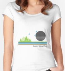 Sequoia National Park Women's Fitted Scoop T-Shirt