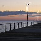 Semaphore Jetty, Adelaide by Leigh Penfold